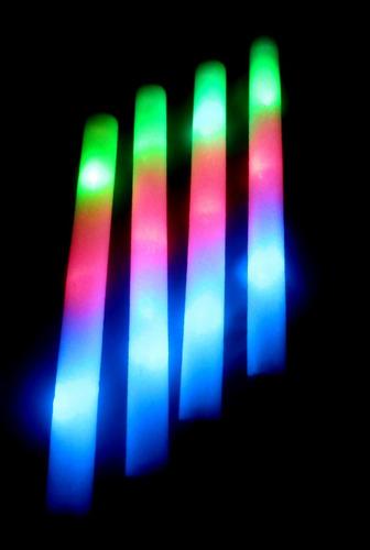 10 Rompecocos Led Tricolor Barras Luminosas Led Cotillón
