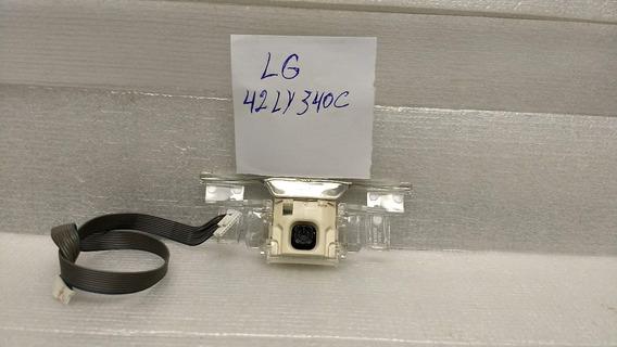 Sensor Do Cr E Chave De Funcções Tv Lg 42ly340c (usado)