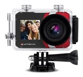 Câmera Ação Sport Selfie Xtrax 16mp 1.3 Traseira 2.0 4k
