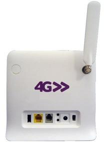 Modem Roteador 3g 4g 300mbps Pra Chip Vivo 4g+ Tim Claro Max