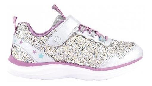 Zapatillas Footy Glitter Stars Silver Fx300