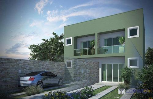 Imagem 1 de 15 de Casa Com 2 Dormitórios À Venda, 93 M² Por R$ 310.000,00 - Campo Grande - Rio De Janeiro/rj - Ca0715