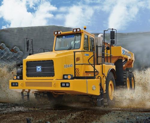 Camión Minero Articulado Xcmg Xca40