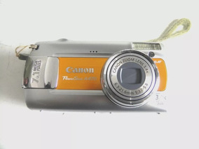 Câmera Canon Powershot A470 7.1mp 3.4x Op. Zoom 2x Pilhas