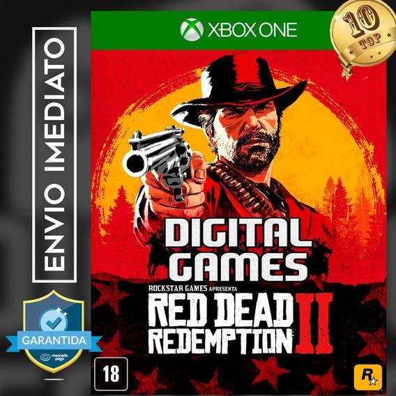 Red Dead Redemption Ii - Xbox One - Mídia Digital