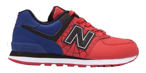 Zapatillas Niños New Balance 574 Avengers Spiderman Marvel