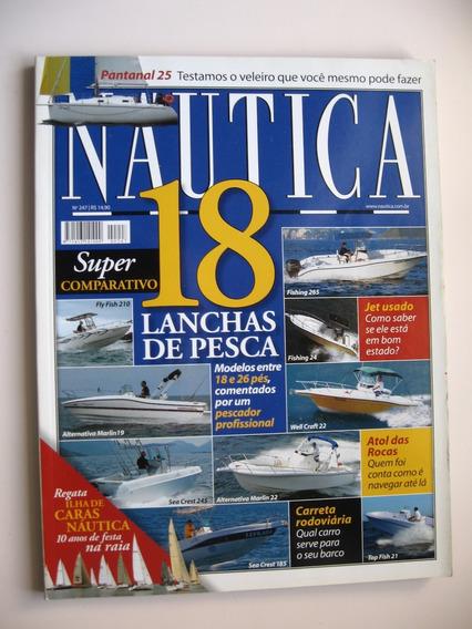Revista Náutica - Mar 2009 - Nº 247 - 18 Lanchas De Pesca