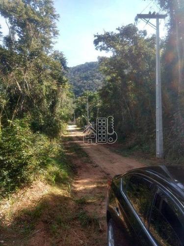 Área De 1723 Metros No Recanto De Itaipuaçu - Maricá - Te0186