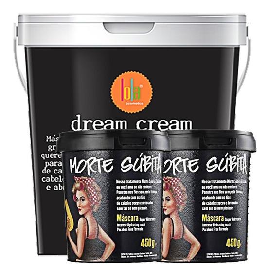 Dream Cream 3kg Lola Máscara Morte Súbita - 2 Unidades