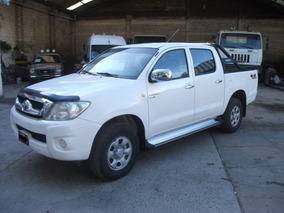 Toyota Hilux 2.5 Cabina Doble 4 X 4 Año 2011
