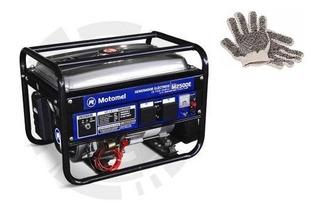 Guantes Y Generador Portátil Motomel M2500e 2200w Monofásico