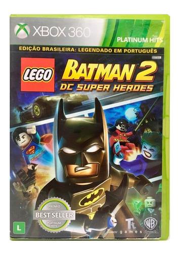 Jogo Xbox 360 Lego Batman 2 Dc Super Heroes Midia Fisica