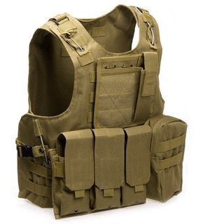 Chalecos Tacticos Chaleco Tactico Militar Airsoft Fsbe2 Cyt