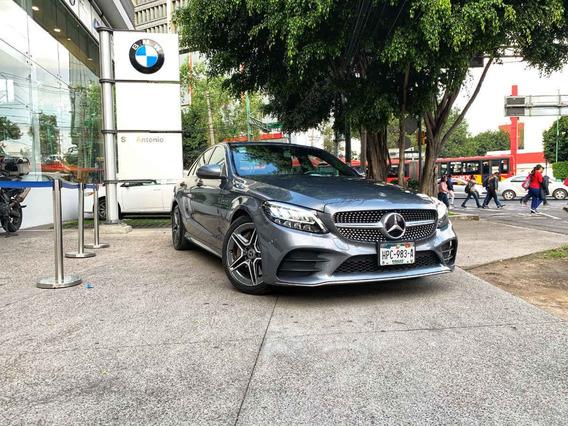 Mercedes-benz Clase C 4p C 300 Sport L4/2.0/t Aut 2019