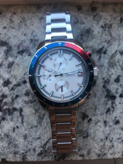 Relógio Masculino Tommy Hilfiger Aço Prata - Original