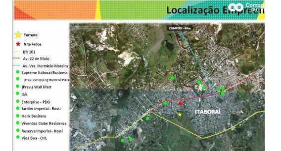Área Nova Itaboraí - Centro De 10.775 / M² - Projeto Para 4 Prédios 35 - 9362