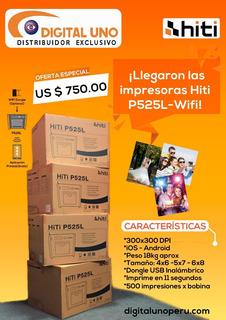 Impresora Hiti Wifi P525l