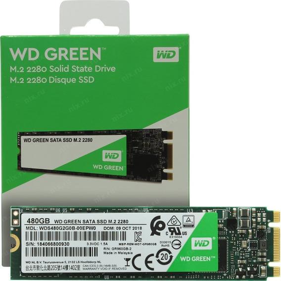 Isco Solido Ssd 480gb M.2 Wd Green Western Digital Cuotas