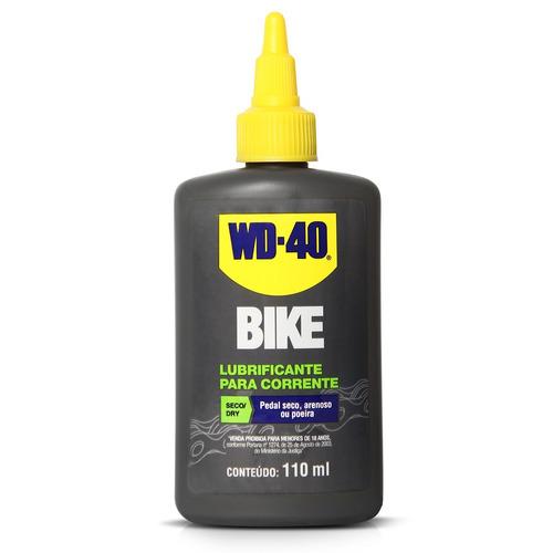 Imagem 1 de 3 de Lubrificante Seco Corrente Bike Dry Wd40 110ml