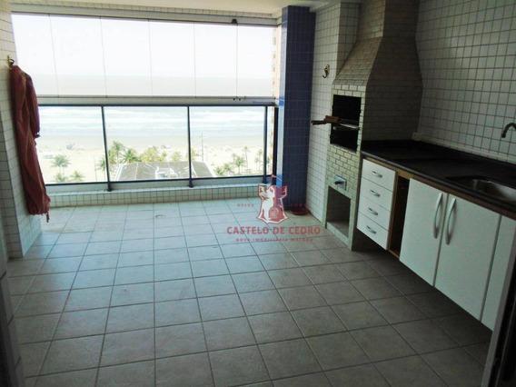 Apartamento Com 3 Dormitórios À Venda, 121 M² Por R$ 560.000 - Boqueirão - Praia Grande/sp - Ap2622