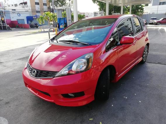 Honda Fit Rojo 2012