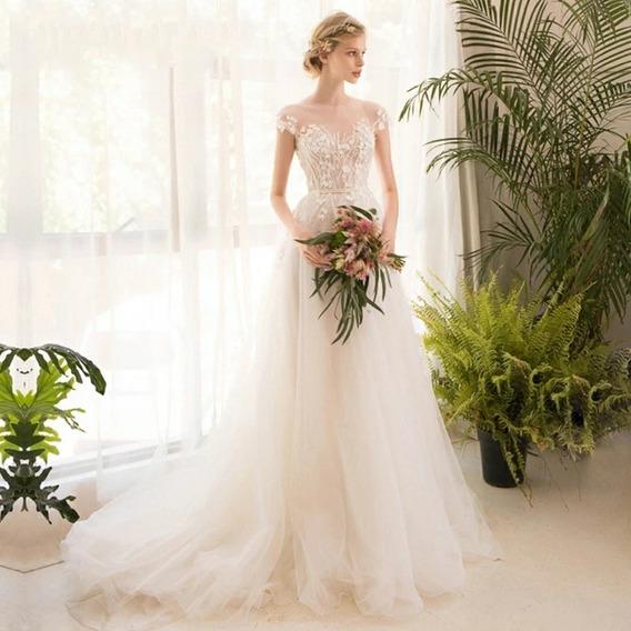 Vestido De Noiva Boho Chic Modelo Liz