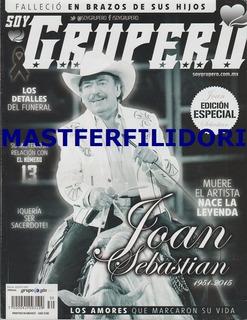Joan Sebastian Revista Soy Grupero Agosto 2015 *