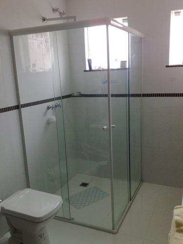 Box Banheiro Vidro Temperado Incolor 8 Mm São Mateus