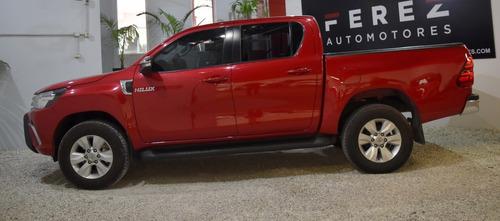 Toyota Hilux Cabina Doble Srv 2.8 Pack Tdi 2016
