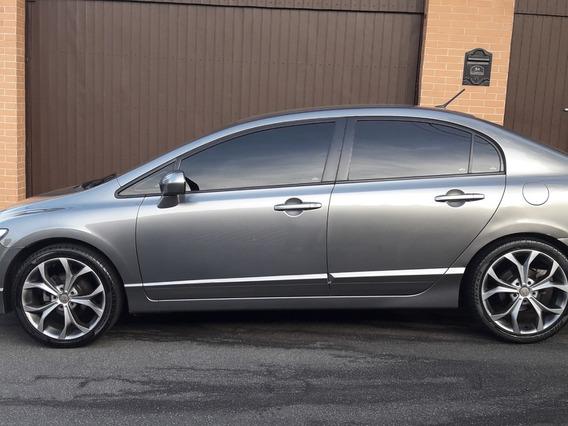 Honda Civic 1.8 Lxs Aut. 4p Unica Dona Impecável 2010 Baixei