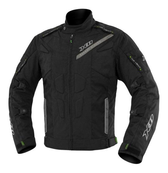 Jaqueta X11 Evo 3 Motociclista Moto Masculino Preto