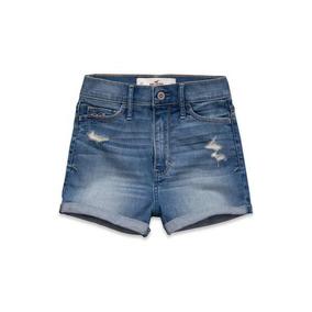 Hollister - Short Jeans - Tamanho 3 -