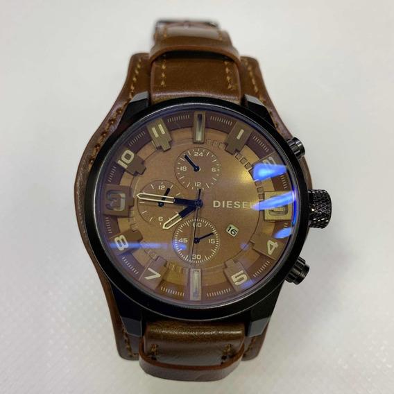 Relógio Bracelete Couro Diesel Novos