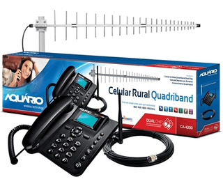 Celular Rural Quadridband Dual Chip Ca-4200