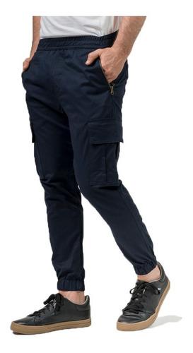 Pantalon Gabardina Jogger Babucha Cargo Hombre Mistral 55013