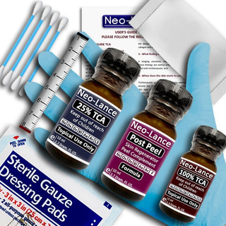 Kit Peeling Cacarizos, Limpieza Facial, Acne, Manchas Edad