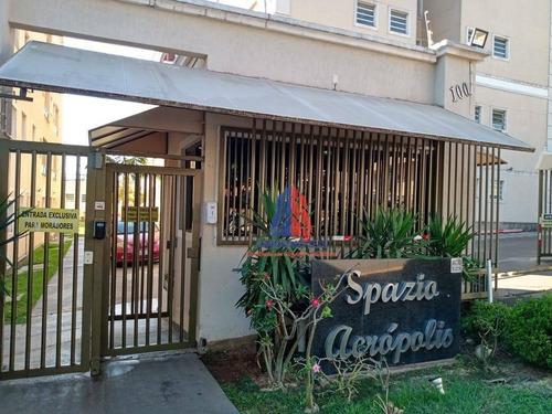 Apartamento Com 2 Dormitórios À Venda, 63 M² Por R$ 200.000 - Residencial Spazio Acrópolis - Vila Belvedere - Americana/sp - Ap1277