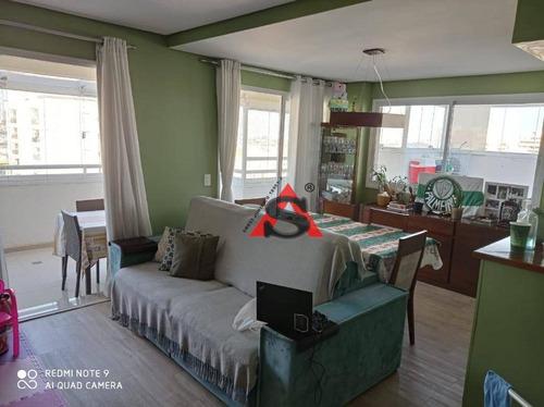 Cobertura Com 2 Dormitórios À Venda, 106 M² Por R$ 975.000,00 - Ipiranga - São Paulo/sp - Co1162