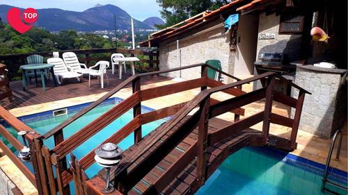 Imagem 1 de 15 de Casa Com 2 Quartos Por R$ 740.000 - Itaipu /rj - Ca21412
