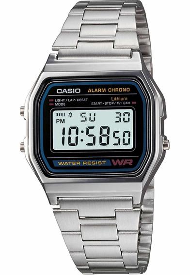 Relógio Casio A159wgea-1df Prata