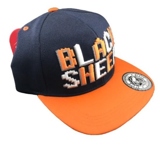 Boné Black Sheep Snapback Aba Reta Original Skateboard