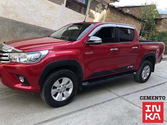 Toyota Hilux Srv 4×4 Año 2016 Precio $ 20,500.00