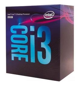 Processador Intel Core I3 8100 3.6ghz 6mb (8°geração)