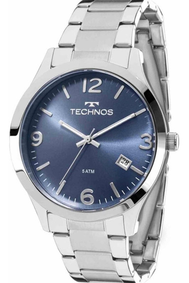 Relógio Technos Feminino Prateado 2315acc/3a