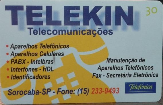 Mídia : Telekin Telecomunicações Telefônica - R$ 4,20 Reais