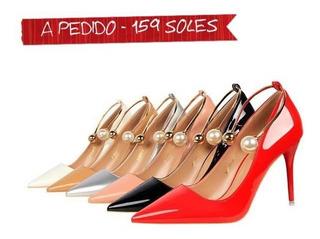 mejor baratas dd8ec 0f13e Zapatos Punta Aguja en Mercado Libre Perú