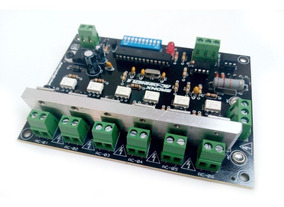Placa Dimmer Dmx 512 Ac/motor 6 Canais 400wts