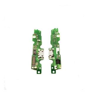 Placa Conector Carga Micro Usb Moto G5 Xt1672 Flex