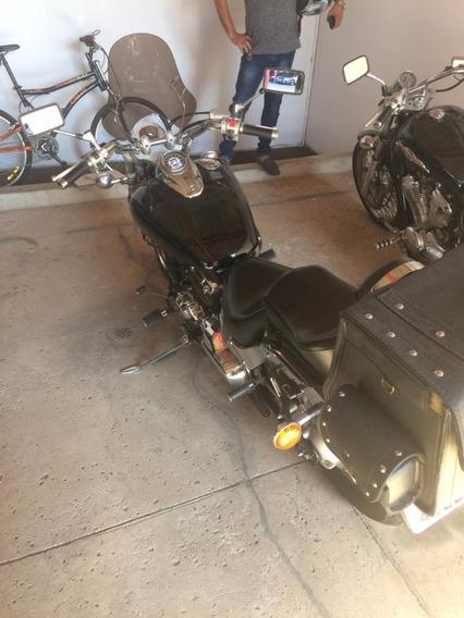 Yamaha Drag Star Xvs 650 2004 Preta