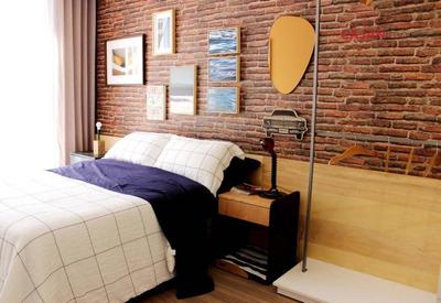 Apartamento Com 2 Dormitórios E 1 Vaga De Garagem No Bairro Bom Fim - Ap4007